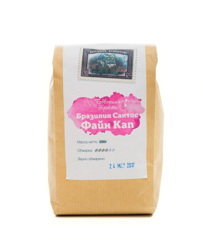 Кофе зерновой и молотый, Бразилия Файн Кап