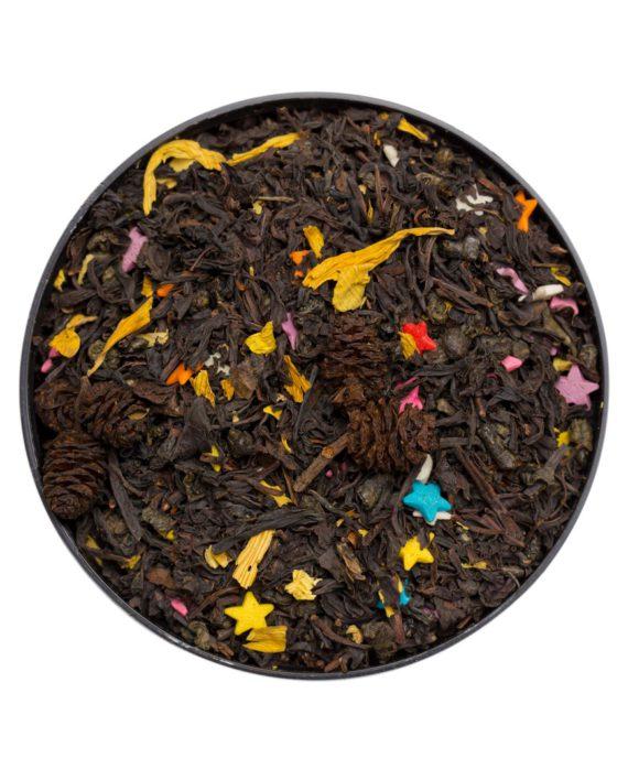 Вкусный чай, купаж зелёного и черного
