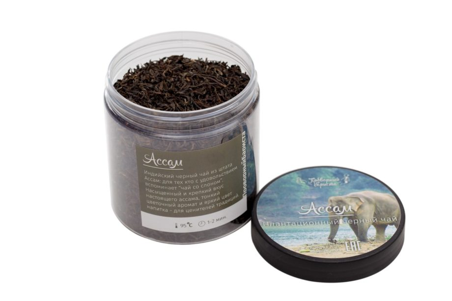 Индийский черный чай ассам