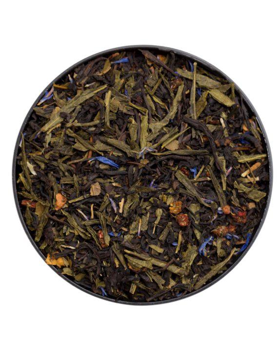 Вкусный зелёный и черный чай